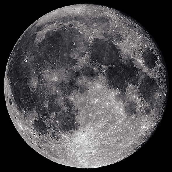 ... acercamiento y alejamiento de la luna en el transcurso de sus fases